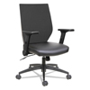 leatherchairs: Alera® EB-T Series Synchro Mid-Back Flip-Arm Chair