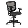 chairs & sofas: Alera® Elusion Series Mesh Mid-Back Swivel/Tilt Chair