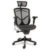 Alera Alera® EQ Series Ergonomic Multifunction High-Back Mesh Chair ALE EQA41ME10B