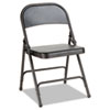 chairs & sofas: Alera® Steel Folding Chair with Two-Brace Support