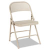 Alera Alera® Steel Folding Chair with Two-Brace Support ALEFC94T