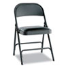 Alera Alera® Steel Folding Chair with Two-Brace Support ALEFC94VY10B