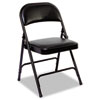 Alera Alera® Steel Folding Chair with Two-Brace Support ALE FC96B