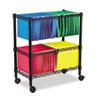 Alera Alera® Rolling File Cart ALE FW601426BL