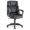 Alera Alera® Fraze Executive High-Back Swivel/Tilt Leather Chair ALEFZ41LS10B