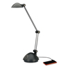 Alera Twin-Arm Task LED Lamp with USB Port ALE LED912B
