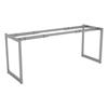 Alera Open Office Desk Series Adjustable O-Leg Desk Base ALE LSTB24GR
