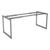 Alera Open Office Desk Series Adjustable O-Leg Desk Base ALE LSTB30GR