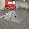 chair mats: Alera® Studded Chair Mat for Flat Pile Carpet