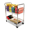 Alera Alera® Wire Mail Cart ALEMC343722CR