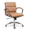 leatherchairs: Alera® Neratoli® Low-Back Slim Profile Chair