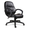 ergonomic: Alera® PF Series Mid-Back Leather Office Chair