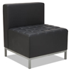 chairs & sofas: Alera® QUB Series Armless L Sectional