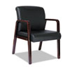 Alera Alera® Reception Lounge Series Wood Guest Chair ALE RL4319M