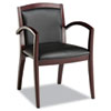 chairs & sofas: Alera® Reception Lounge Series Solid Wood Chair