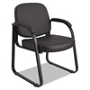 chairs & sofas: Alera® Genaro Series Half-Back Sled Base Guest Chair
