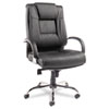chairs & sofas: Alera® Ravino Series High-Back Swivel/Tilt Leather Chair