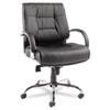 Alera Alera® Ravino Series Mid-Back Swivel/Tilt Leather Chair ALE RV45LS10C