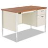 Desks & Workstations: Alera® Single Pedestal Steel Desk