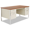 Desks & Workstations: Alera® Double Pedestal Steel Desk