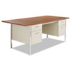 Desks & Workstations: Alera® Double Pedestal Steel Desk