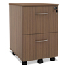 shelves and cabinets: Alera® Sedina Series Mobile File/File Pedestal