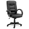 Alera Alera® Strada Series High-Back Swivel/Tilt Chair ALESR41LS10B