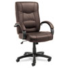 Alera Alera® Strada Series High-Back Swivel/Tilt Chair ALE SR41LS50B