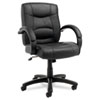 leatherchairs: Alera® Strada Leather Mid-Back Swivel/Tilt Chair