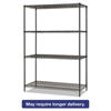 metal shelving units: Alera® BA Plus Wire Shelving Kit