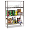 steel shelving units: Alera® Wire Shelving Starter Kit
