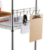 steel shelving units: Alera® Wire Shelving Hook Bars