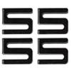Alera Alera® Wire Shelving S Hooks ALE SW59SHBL