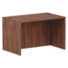 Desks & Workstations: Valencia Series Straight Front Desk Shell, 47.25x29.5x29.63, Mod Walnut