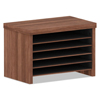 Ring Panel Link Filters Economy: Valencia Series Under-Counter File Organizer, 15 3/4 x 10 x 11, Mod Walnut