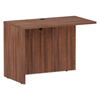 Desks & Workstations: Valencia Series Reversible Return/Bridge Shell, 42x23.63x29.63, Mod Walnut