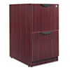 shelves and cabinets: Alera® Valencia Series File/File Full Pedestal File
