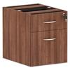 Ring Panel Link Filters Economy: Valencia Series Hanging Box/File Pedestal, 15.63x20.5x19.25, Mod Walnut