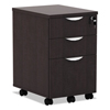 shelves and cabinets: Alera® Valencia Series Mobile Box/Box/File Pedestal File