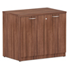 Ring Panel Link Filters Economy: Valencia Series Storage Cabinet, 34w x 22 3/4d x 29 1/2h, Modern Walnut