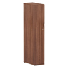 Ring Panel Link Filters Economy: Valencia Series Wardrobe, 11 7/8w x 23 5/8d x 65h, Modern Walnut