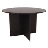 round table top: Alera® Valencia Series Round Conference Tables with Straight Leg Base