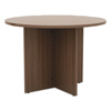 Tables: Valencia™ Series Round Conference Tables with Straight Leg Base