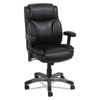 leatherchairs: Alera® Veon Series Leather Mid-Back Manager's Chair