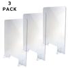 Alpine Table Top Acrylic Sneeze Guard ALP 410-3036-T-3