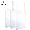 Alpine Hanging Acrylic Sneeze Guard ALP 410-3040-H-3