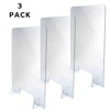 Alpine Table Top Acrylic Sneeze Guard ALP 410-3040-T-3