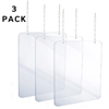 Alpine Hanging Acrylic Sneeze Guard ALP 410-3640-H-3