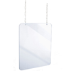 Alpine Hanging Acrylic Sneeze Guard ALP 410-3640-H