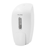 Alpine Soap & Hand Sanitizer Dispenser, Surface Mounted, 800 ml Capacity, White ALP 425-WHI